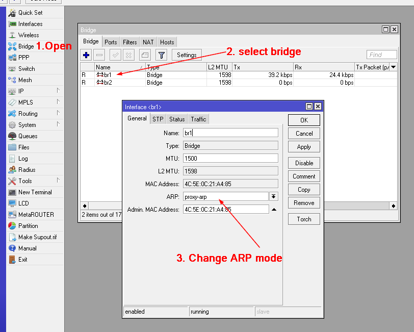 PPTP VPN Server : شرح كيفية تكوينة واعدادة على  Mikrotik RouterOS