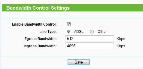 التحكم بالنطاق الترددي على جهاز التوجيه اللاسلكي