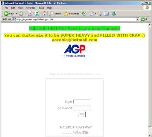 ميكروتيك هوت سبوت: صفحة تسجيل دخول مختلفة لمستخدمي الجوال