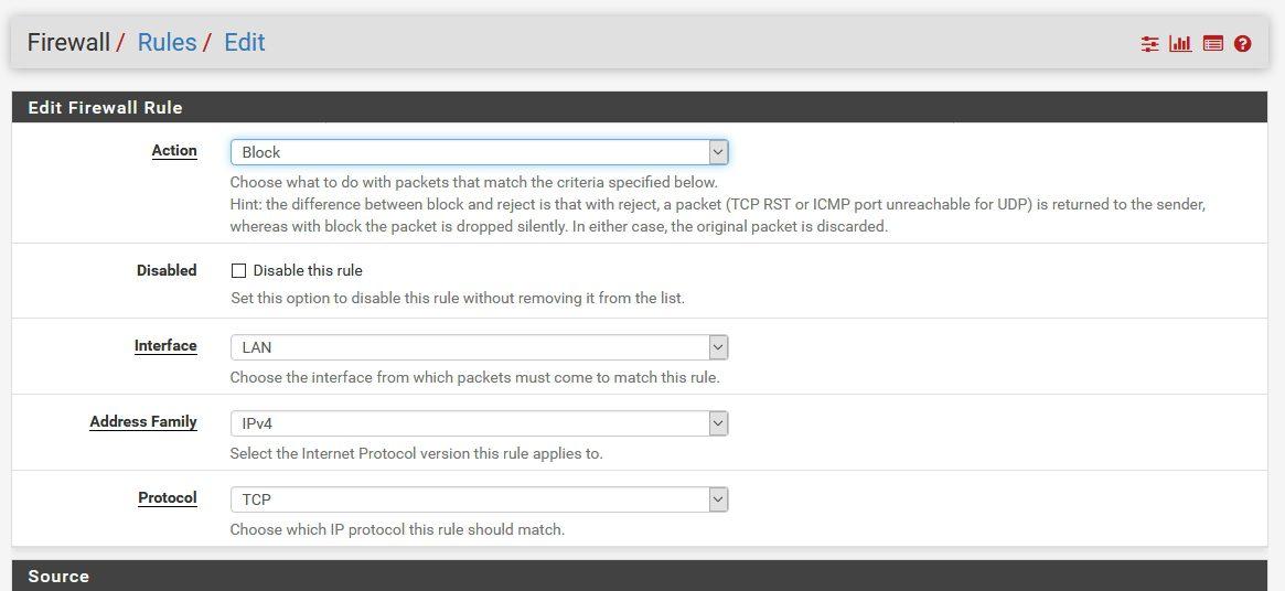 قواعد جدار حماية pFSense تعلم الطرق التي يتم بها كيفية تحديدها وطرق تنفيذها