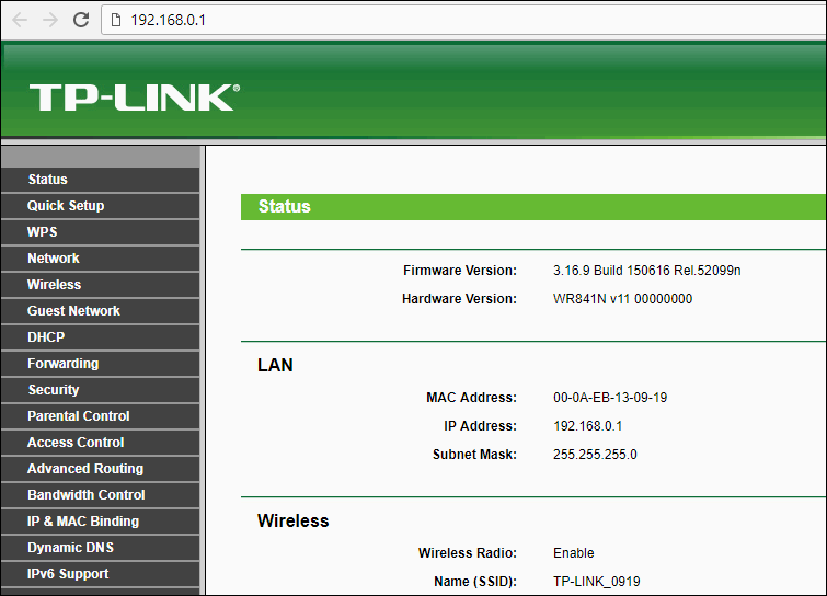 TP-Link-router-settings-old-interface-TL-WR841ND