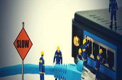 مشكلة ضعف الشبكة والانترنت