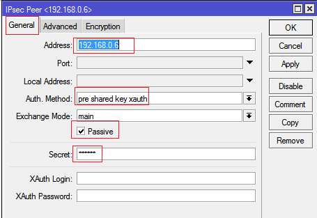 configure secure Mikrotik IPSec vpn