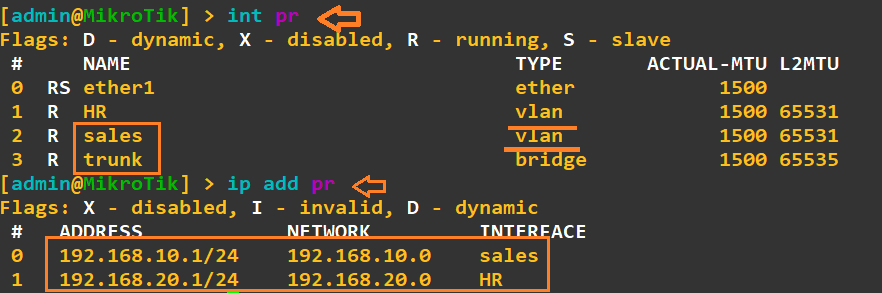 إنشاء VLAN مع خدوام DHCP متعددة في سيرفر الميكروتك شرح خطوه خطوه