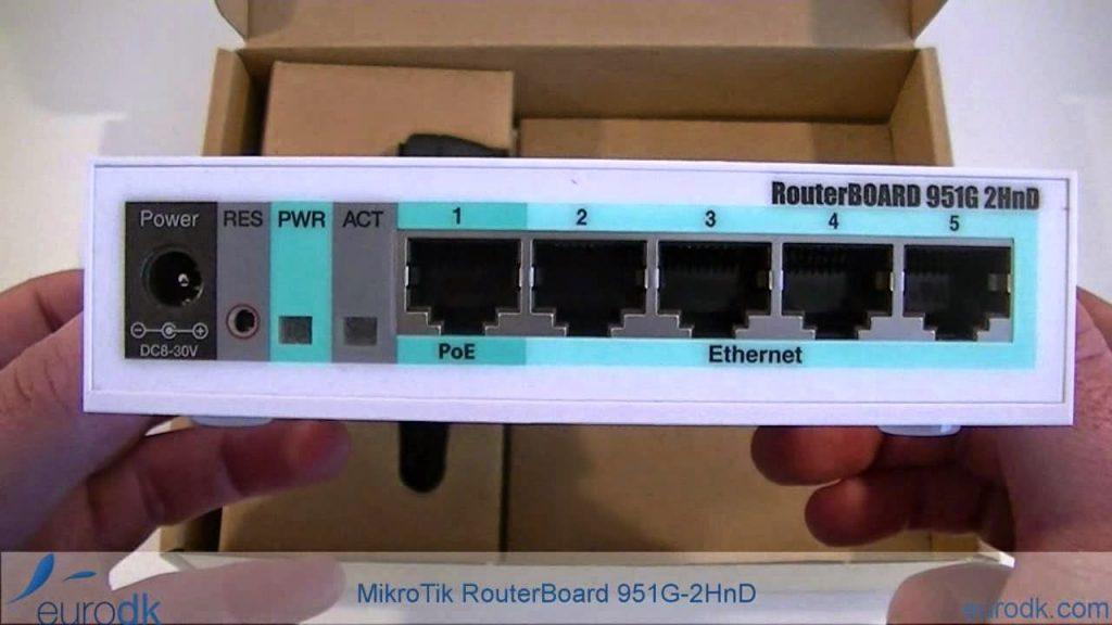اصلاح روتر بورد 951 الوايرليس RB951G-2HnD