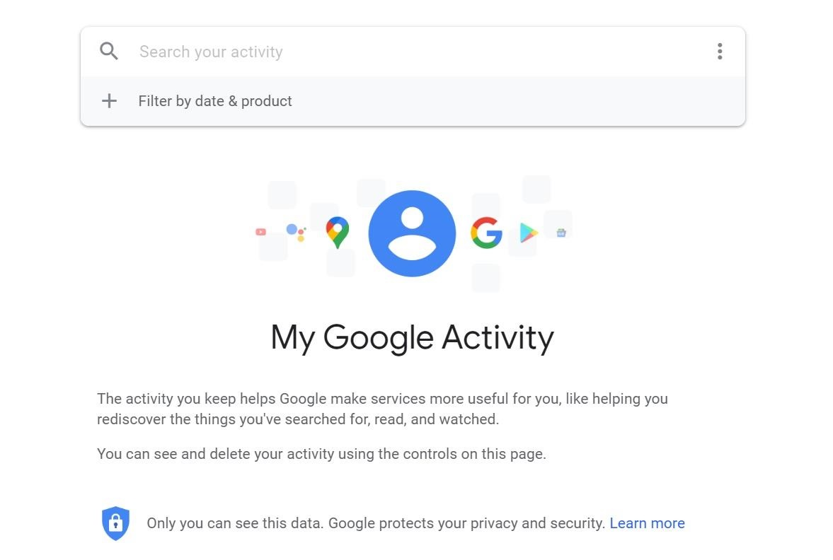 حذف سجلات جوجل