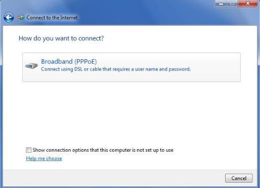 كيفية ضبط اتصال PPPoE لجهاز الكمبيوتر الخاص بي؟ للحصول على الانترنت