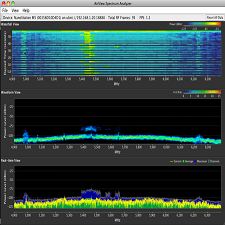 airOS airView Spectrum Analyzer